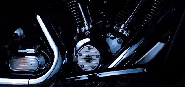 How to Paint a Motorcycle Engine